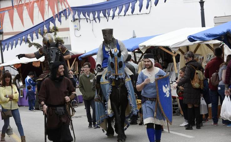 Monteagudo celebra su mercado medieval con 120 puestos y 80 actividades diarias