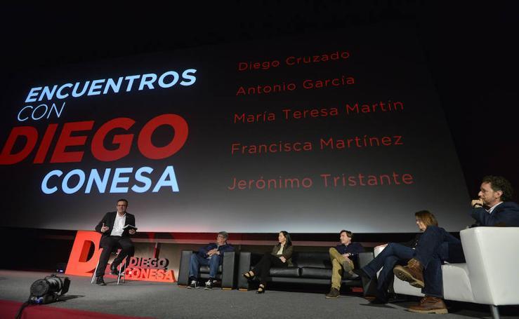 Diego Conesa en la Filmoteca Regional