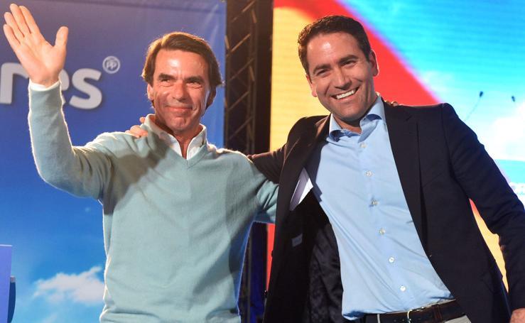 Aznar: «Creo en un agua española que se reparte y se comparte»