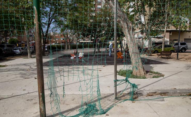 Desperfectos, suciedad y ratas en parques de Ciudad Jardín