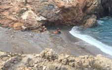 Evacuados en helicóptero dos senderistas accidentados en Cieza y un turista en cabo Tiñoso