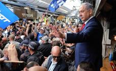 Netanyahu busca una reelección que mitigue sus problemas con la justicia