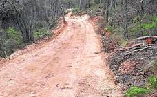 El Grupo Fuertes ejecuta y costea el camino para llegar a La Almoloya