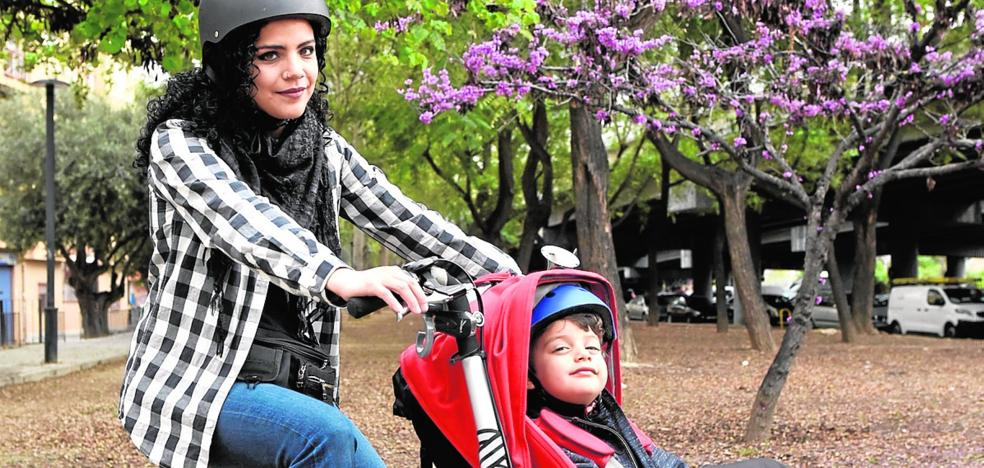 Lorena Laos: «Nunca he tenido un susto con la bici; si respetas, te respetan»