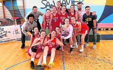 El UCAM júnior femenino, sin rival en la final a cuatro de baloncesto