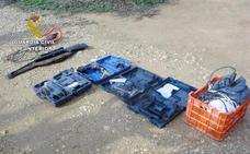 Detenidos tres miembros de un clan familiar por robar herramientas y maquinaria de campo en Librilla