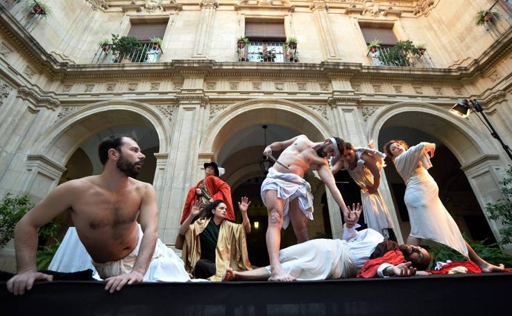 La obra de Caravaggio 'renace' en el Palacio Episcopal de Murcia