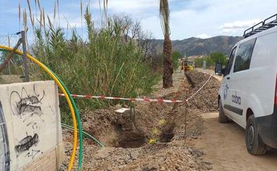 El Ayuntamiento de Murcia denuncia a Adif por abrir una zanja ilegal en la Vía Verde