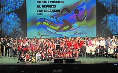 Honores en el Batel para el mejor deporte cartagenero