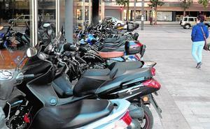 Las motos ganan peso en el parque móvil municipal y ya se acercan a la cifra de 70.000