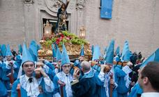 La Cofradía del Santisimo Cristo del Amparo inaugura la Semana Santa murciana