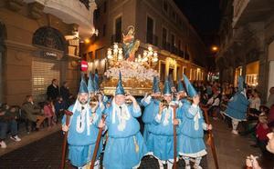 La procesión del Amparo abre la Semana Santa en Murcia