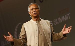 El Nobel de la Paz Muhammad Yunus promoverá un centro de empresas sociales en la UMU