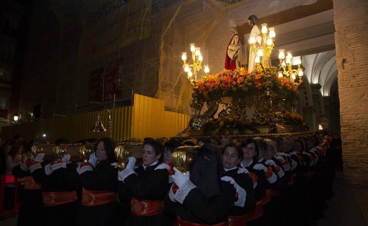 Procesión del Cristo de la Misericordia en Cartagena