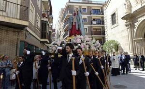 La Virgen de los Dolores ya aguarda en San Juan la llegada del Martes Santo
