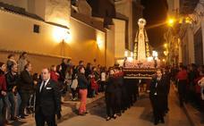Procesión de la Curia en el Sábado de Pasión de Lorca