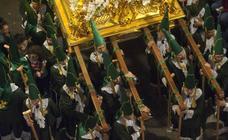 Procesión de la Cofradía de la Esperanza del Domingo de Ramos en Murcia 2019