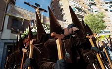 Procesión de la Fe en el Sábado de Pasión de Murcia