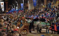 El Paso Azul en el Domingo de Ramos lorquino