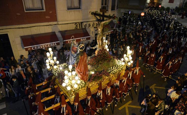 Procesión del Cristo del Perdón en Murcia