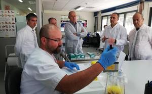 El Laboratorio Agroalimentario de la Región realizó en 2018 más de 630.000 análisis sanitarios