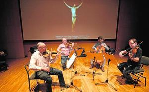 Cuarteto Saravasti : «Casi no ves a los compañeros, pero el ambiente es extraordinario»
