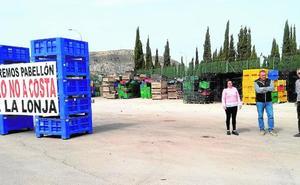 La presión de la lonja obliga al alcalde de Cehegín a rectificar en el proyecto del pabellón