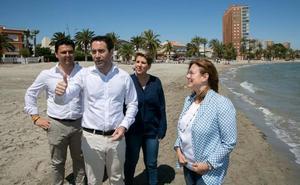 Teodoro García apuesta por crear «un alto comisionado para el impulso del Mar Menor»