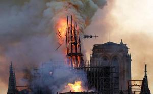 Francia lanza un concurso internacional para reconstruir la aguja de Notre Dame