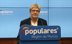 El PP lamenta que Rivera «pase de puntillas» por Murcia «sin explicar si pactará con el PSRM»