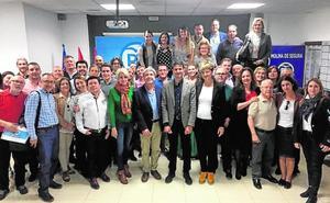 Alfonso renueva el 85% de la lista del PP de Molina