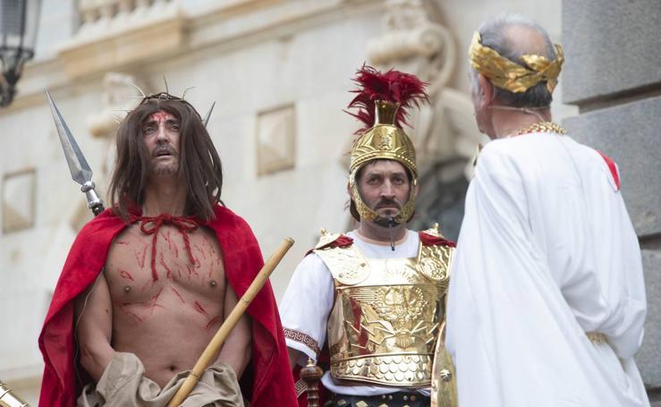 Representación del Juicio de Jesús en Cartagena