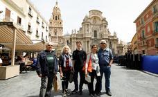 Turistas en Murcia