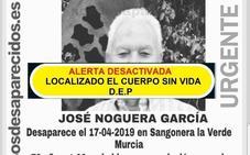 Hallan el cuerpo sin vida de un hombre desaparecido este miércoles en Sangonera la Verde