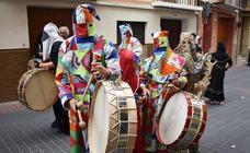 Los tambores desafían al mal tiempo en Moratalla