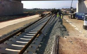 Licitan por casi un millón el control de calidad de las obras del Corredor entre Sangonera la Seca y Lorca