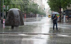 Meteorología activa el aviso amarillo por lluvias este Viernes Santo en toda la Región