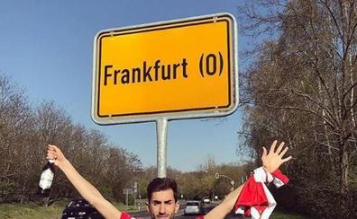 Hinchas del Benfica se equivocaron de Fráncfort en su viaje