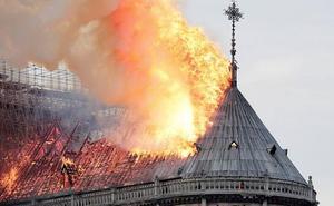 «Todo el mundo, pobres y ricos, ha dado ya dinero para reconstruir Notre Dame»