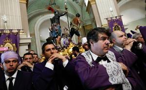 La lluvia deja a Murcia sin los 'salzillos'