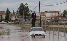 Las consecuencias del temporal en Cartagena