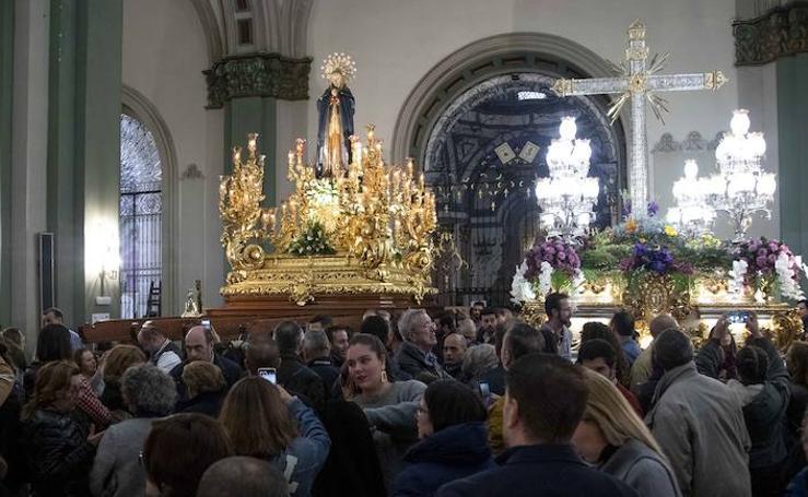 La Cofradía Marraja cancela la procesión de la Vera Cruz