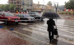 Listado completo de carreteras cortadas por la acumulación de agua en la Región de Murcia