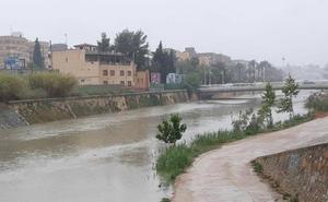 Las lluvias dejan más de 60 l/m² en 24 horas en la cuenca del Segura