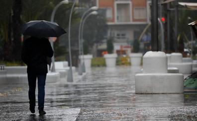 El peor temporal en la Región de Murcia en el mes de abril en 50 años por una gota fría a destiempo