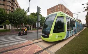Así será el dispositivo especial del Tranvía de Murcia para el Bando de la Huerta