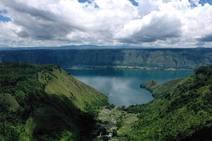 El mayor lago volcánico