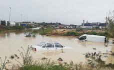 La tormenta de abril más intensa en medio siglo deja medio millar de incidencias en toda la Región de Murcia