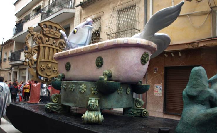 Archena recibe a la Sardina como pez en el agua