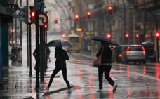 El temporal pierde fuerza, aunque el viento y la lluvia seguirán hasta el lunes